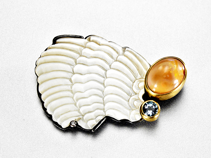 Sometimes you need wings brooch