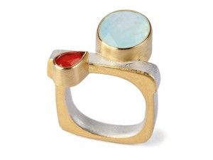 Satellite Ring Andean Opal
