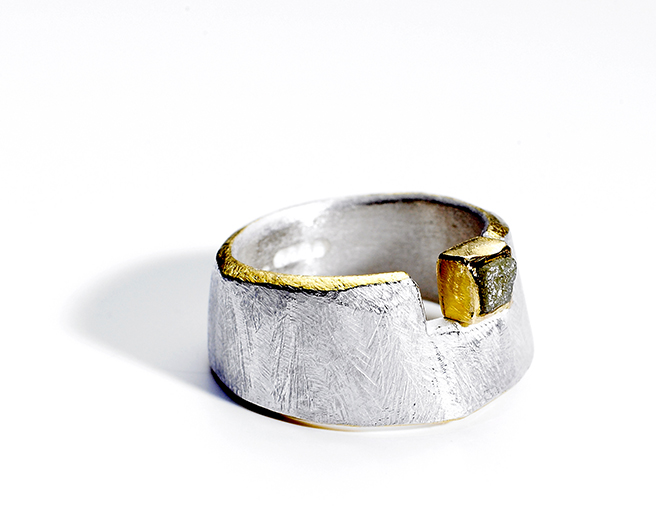 Rough Cut ring tanja ufer