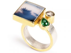 'Coastline' Ring