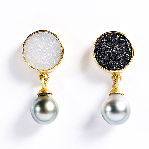 Black and White studs, tanja ufer