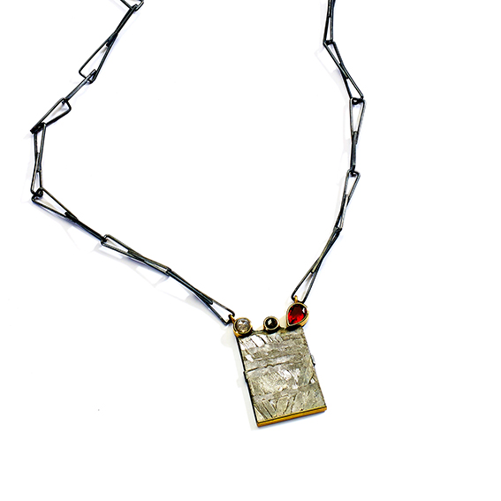 Meteorite Seymachan Necklace