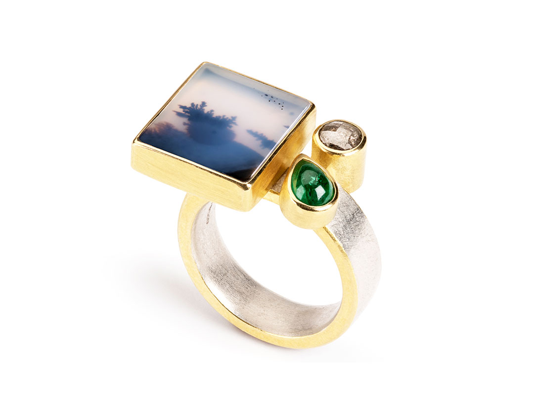 Tanja Ufer - Coastline Ring